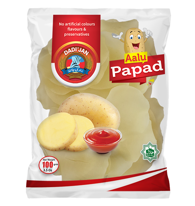Aalu-papad new