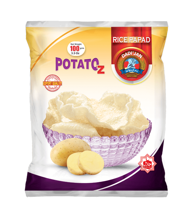 Rice Papad Potatoz