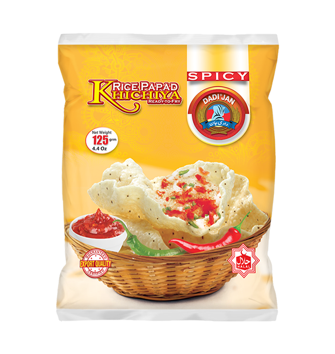 Khichiya Spicy Rice Papad