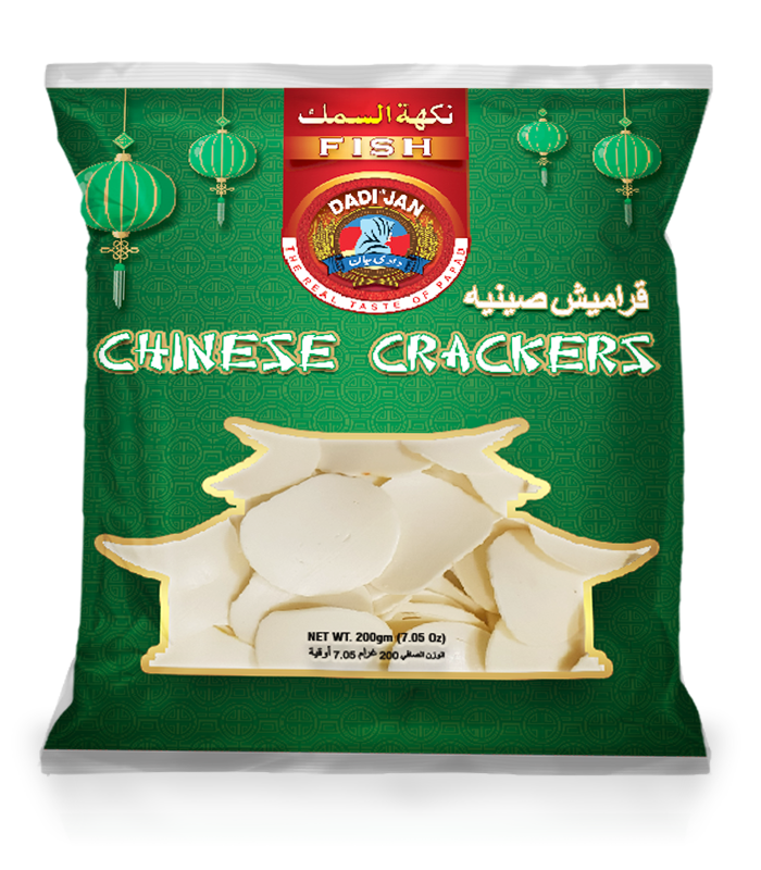 Chinese Crackers Fish Front
