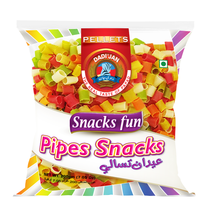 Colored Ring Pipes Snacks