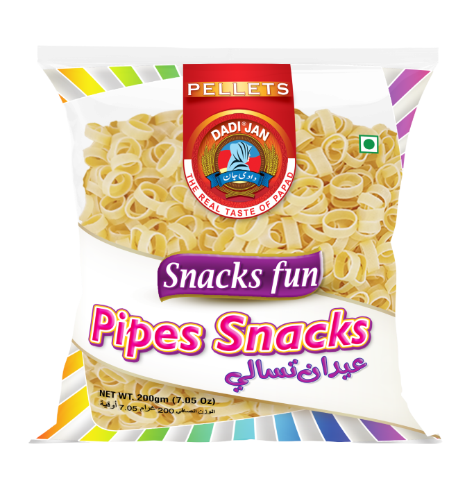 _Plain Washer Pipes Snacks